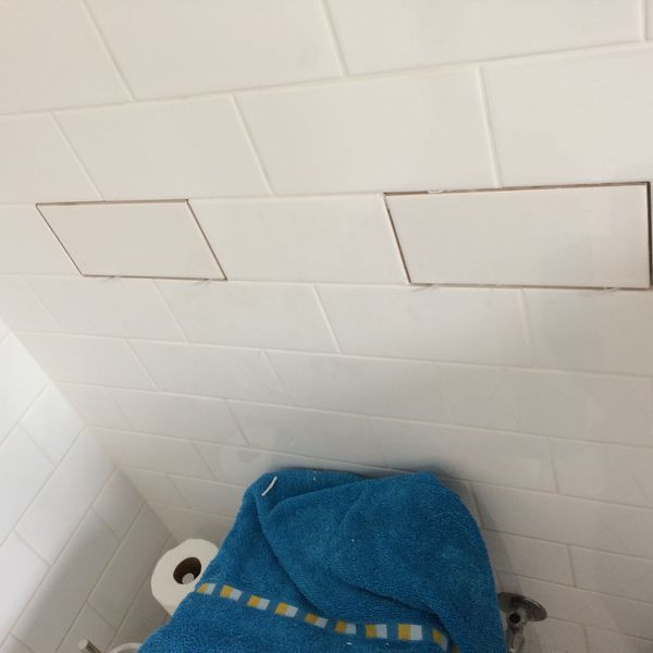 Damaged tiles replacement - Glenbrook