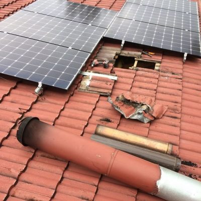 Heater Install Winmalee - Before